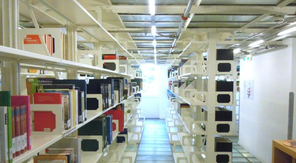 Archiv einer Bibliothek