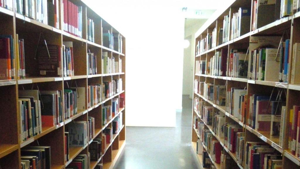 freihandbereich einer Bibliothek