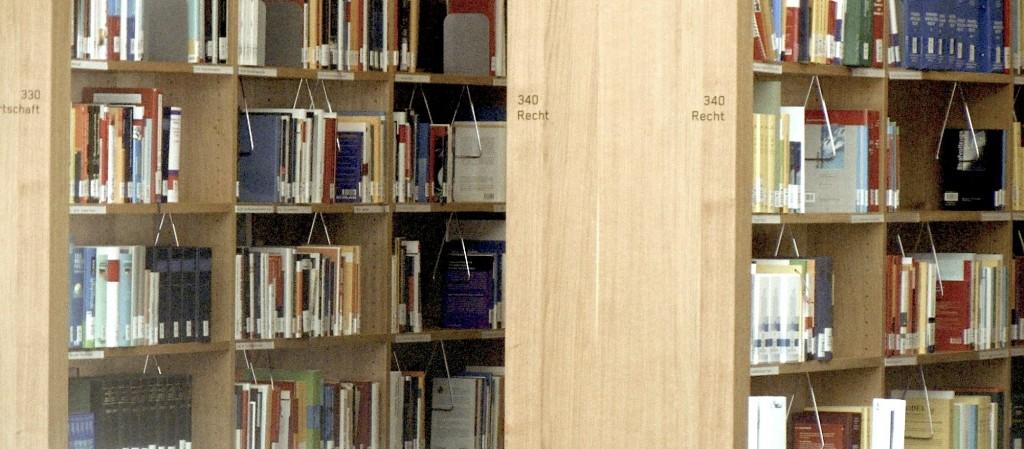 Freihandbereich Bibliothek